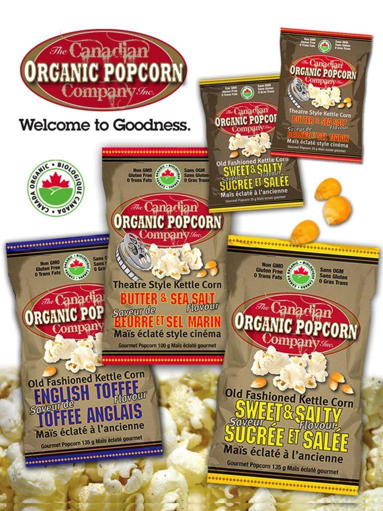 The Canadian Organic Popcorn Company